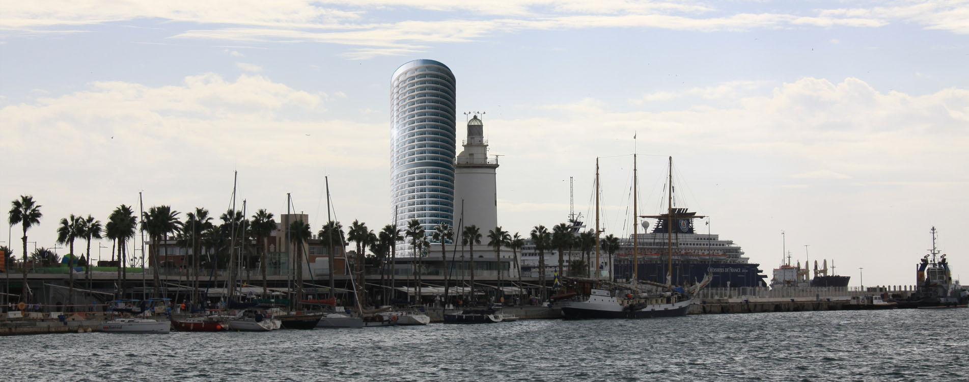 Defendamos nuestro horizonte. No al rascacielos del Puerto de Málaga
